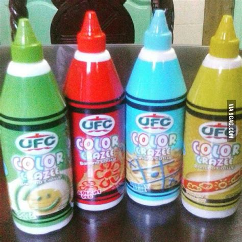 colored ketchup in the philippines they re selling colored ketchup what a