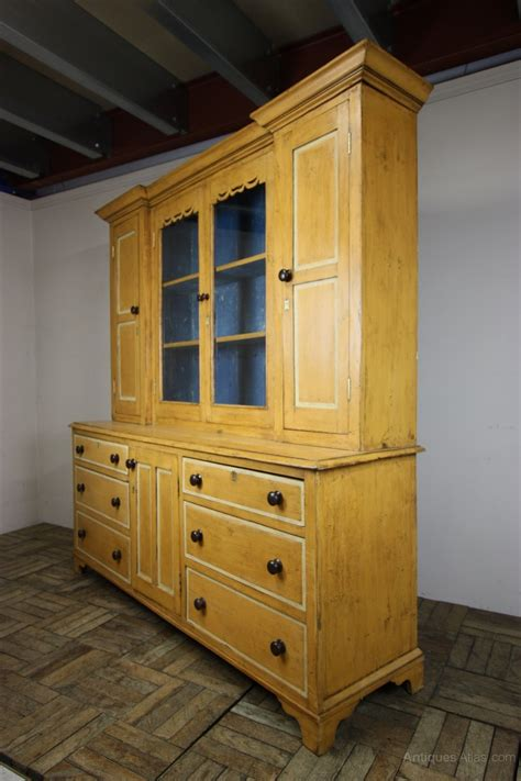 antique pine dresser antique pine dresser in original paint finish antiques