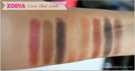 Zoeva Cocoa Blend Palette for the of zoeva cocoa blend eyeshadow palette the