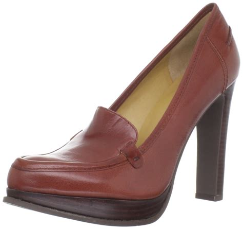 nine west loafer nine west skipabeat loafer in brown copper lyst