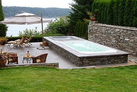 swim spa backyard designs 37 best images about swim spa sauna on pinterest pool ideas endless pools and