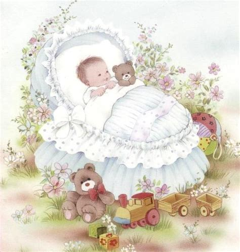 Baby Decoupage - 3d die cut decoupage sheets for baby and childs
