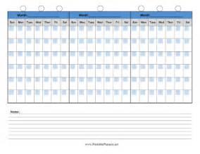 90 Day Calendar Template 90 day calendar