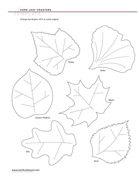 4 best images of leaf templates printable pdf printable