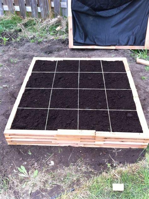 Balcony Garden how to make a square foot gardening box recipe gardens