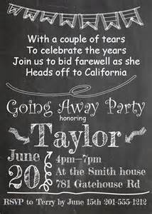 going away invitations new selections 2017
