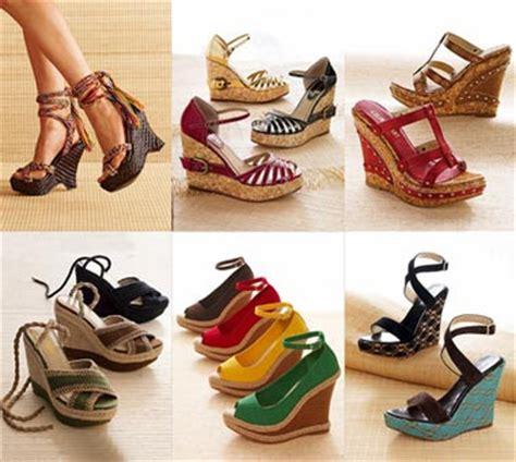 Wedges Heel Hak Tahu Tali Cantik jenis jenis kasut wanita cik nurfarah