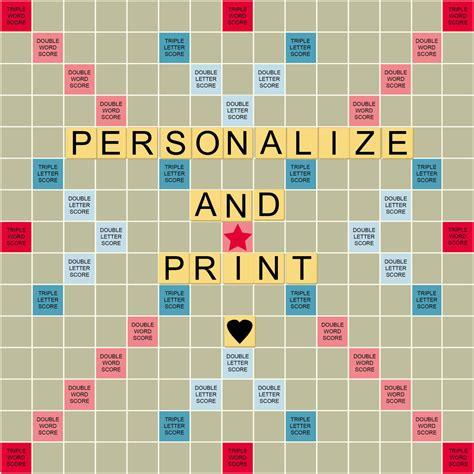 ai scrabble personalize print a scrabble styled board for