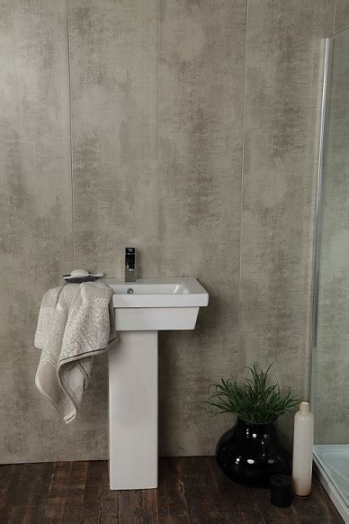 Pvc Shower Panels Cladding by Swish Marbrex Bisque Tile Effect Pvc Bathroom Cladding Shower Wall Panels W375mm X H2600mm Pack