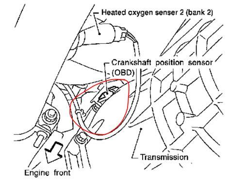 p0340 nissan xterra p0335 2004 nissan xterra crankshaft position sensor circuit