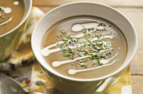 light starters for dinner chestnut soup recipe goodtoknow