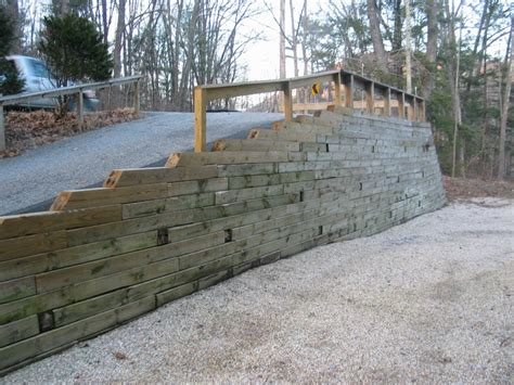 wood retaining wall design engineering images and photos objects hit interiors