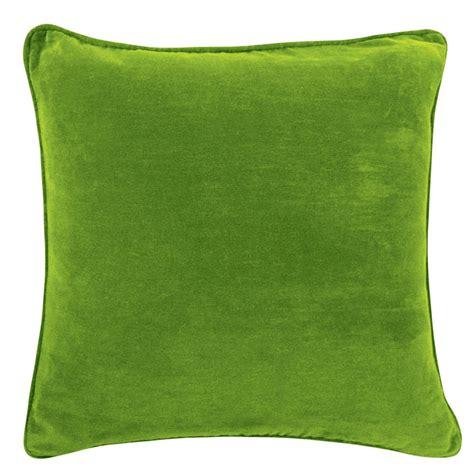 green velvet seat cushions the velvet green cushion 45x45cm hupper