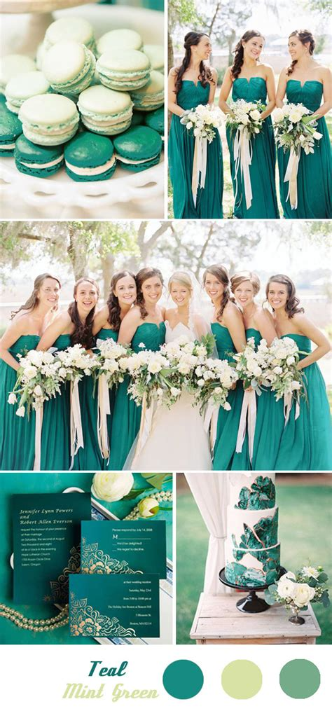 five fantastic and summer wedding color palette ideas with green tulle chantilly