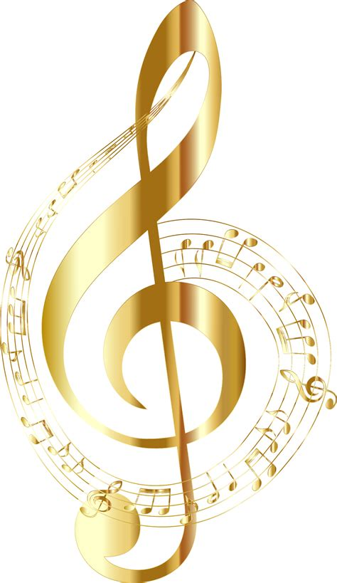 wallpaper gold music clipart gold musical notes typography no background