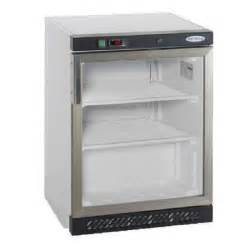 fridge freezer glass door tefcold uf200 glass door freezer inter fridge