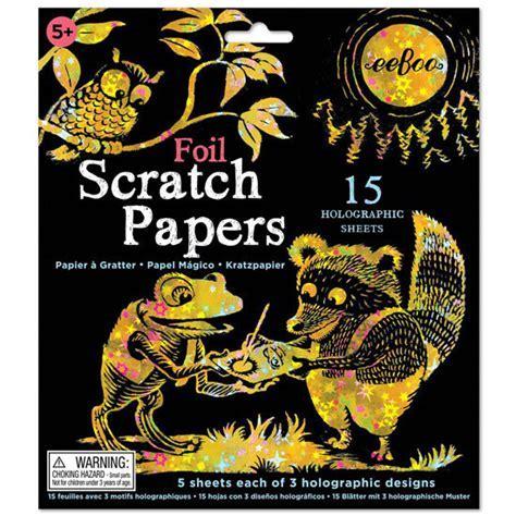 Scratch Art Sparkles Paper   Gifts Australia