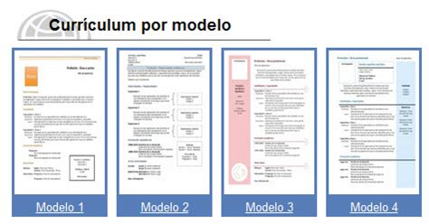 Modelo De Curriculum Vitae En Word 2013 Modelo De Curriculum Vitae Word 2013