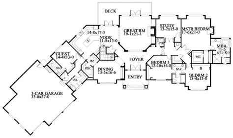 house plans for wide lots wide house plans smalltowndjs com