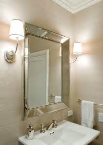 bathroom mirror with sconces vendome sconce transitional bathroom sutro architects