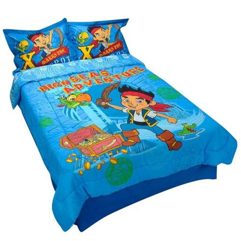 jake and the neverland pirates bed disney jake the neverland pirates full size comforter bed skirt and shams ebay