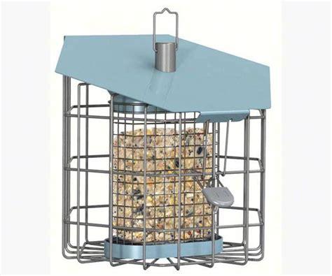 nuttery caged suet feeder squirrel proof suet feeders