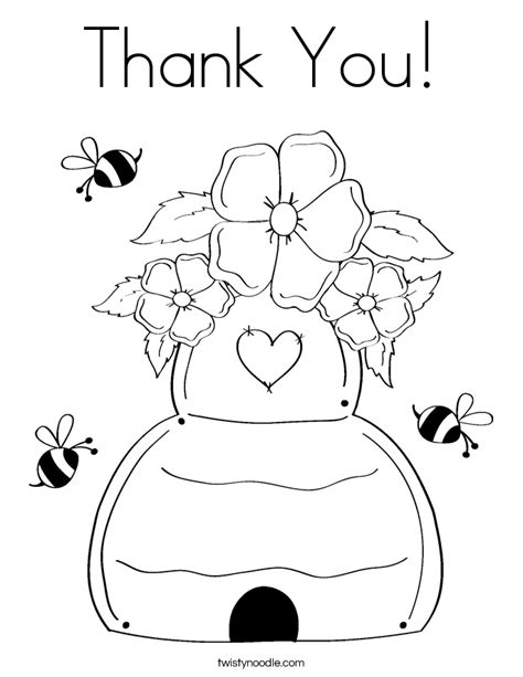 thank you cards coloring pages printable thank you card