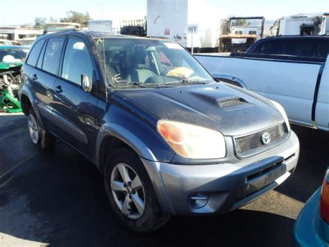 Toyota Used Parts San Jose 2004 Toyota Rav4 For Parts Only Auto Wreckers San