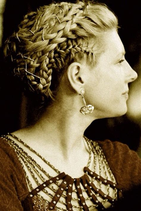 how to hairstyles of viking show women lagertha braids from vikings locks pinterest