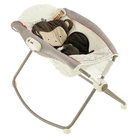 fisher price deluxe newborn rock n play sleeper snugamonkey