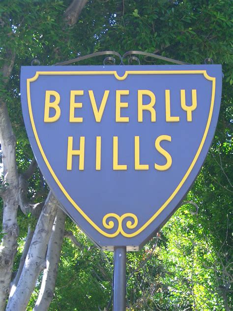 Beverly Hills Sign | beverly hills los angeles community resources