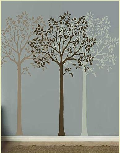 25 best ideas about tree wall stencils on pinterest