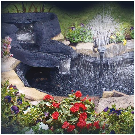 get the deluxe diy waterfall pond kit at walmart com save diy filter for pond diy free engine image for user