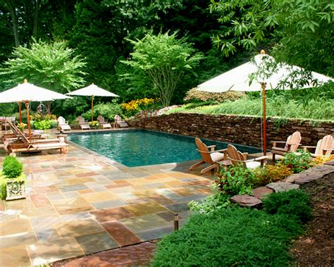 Landscaping Ideas Backyard by Ideas Tagged Backyard Pool Landscaping Ideas Pictures