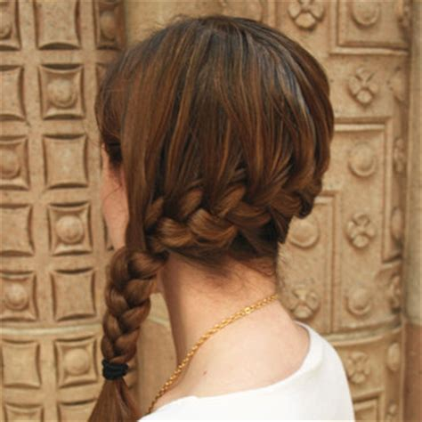 how to do a katniss braid step by step katniss everdeen s braid how to popsugar beauty australia