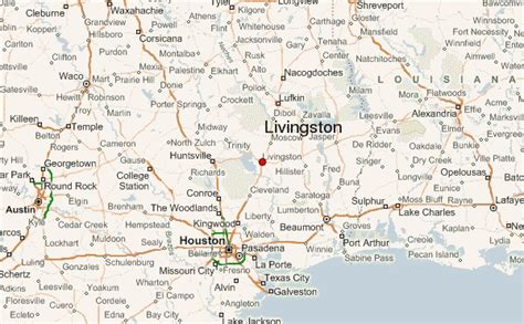 livingston texas map image gallery map livingston
