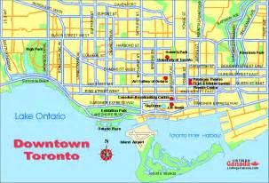 toronto downtown map ontario listings canada