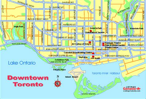 printable maps toronto 416 snack bar map toronto toursmaps com