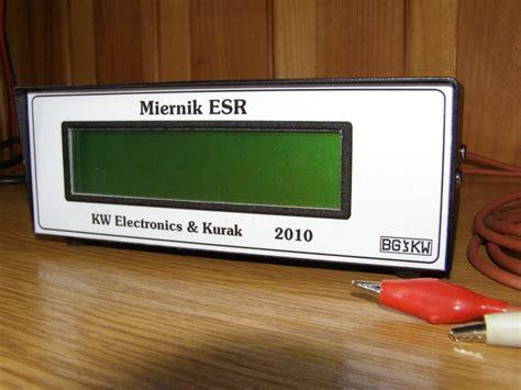 capacitor value meter esr electrolytic capacitors value meter