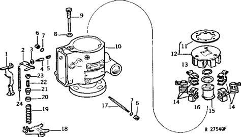 john deere  injector pump diagram wiring diagram list