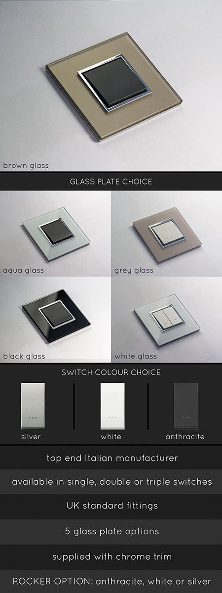 modern electrical switches for home glass light switches luxury light switches designer