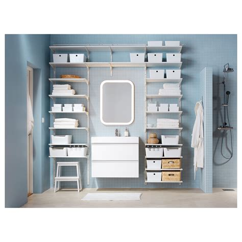 ikea algot shelves algot wall upright shelves white 242x41x199 cm ikea
