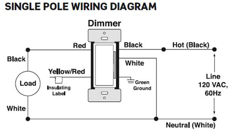 single pole dimmer switch wiring diagram 40 wiring