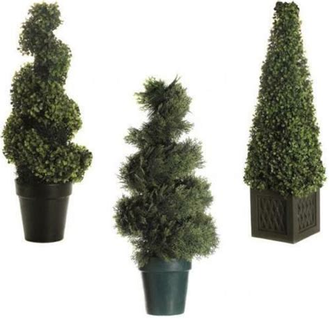 artificial decorative light  led topiary tree bush