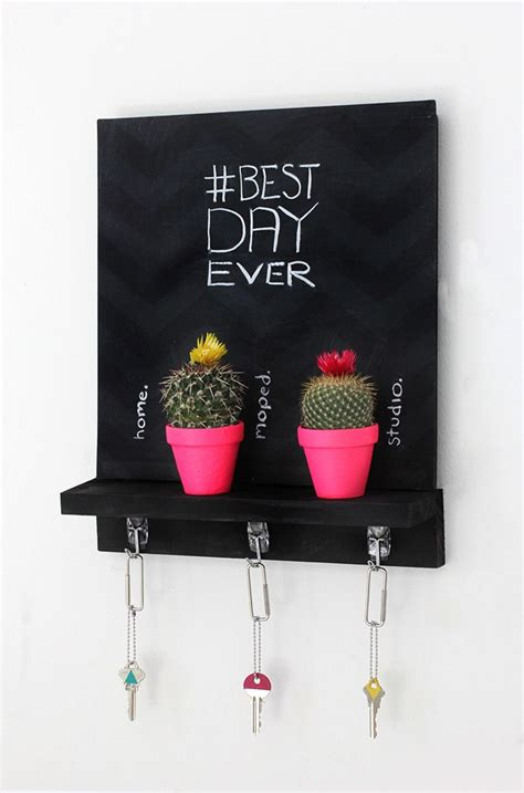 diy chalkboard key holder 1000 images about regaleria on embroidery