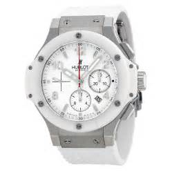 big rubber st hublot big st moritz chronograph white white