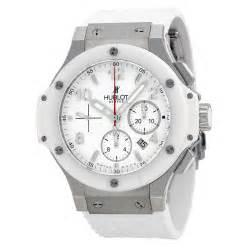 rubber st cost hublot big st moritz chronograph white white