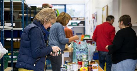 Cambridge Food Pantry by Demand For City Foodbanks Up 50 Per Cent Since Last