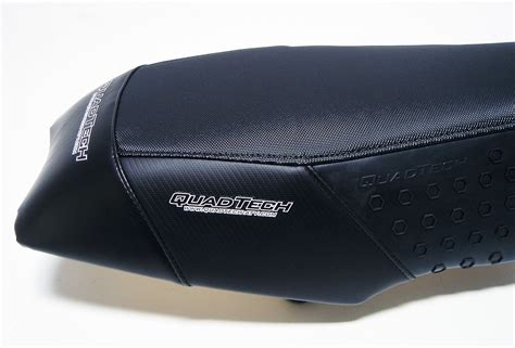 quadtech seats quadtech black desert seat cover foam honda trx450r trx