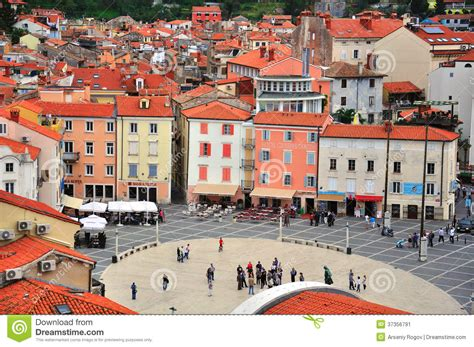 croatie slovnie de piran bruxelles vieille ville de piran slov 233 nie photo 233 ditorial image